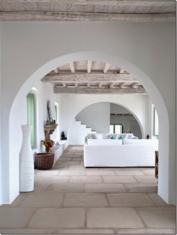 Grecia il potere del bianco case e interni for Immagini case antiche interni