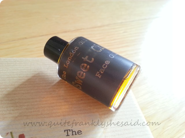 The London Oil Company Sweet Cheeks Face Oil  3