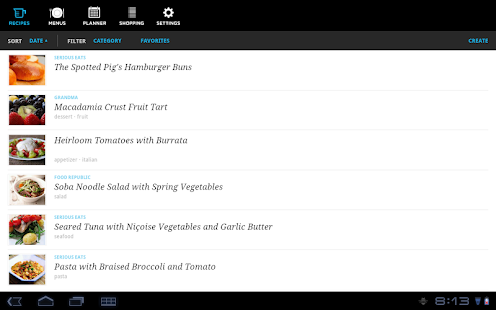 Recipe, Menu & Cooking Planner Screenshot 14