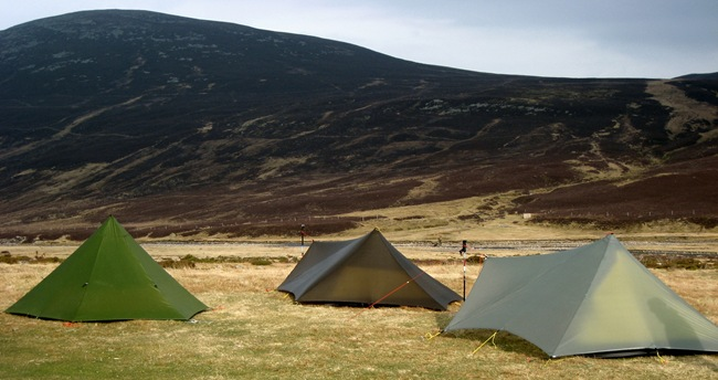 HEXPEAK & 2xTRAILSTARS, BOTHY 3, DULNAIN