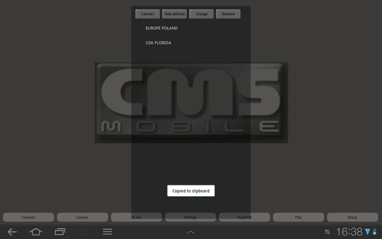 CMS Mobile - screenshot
