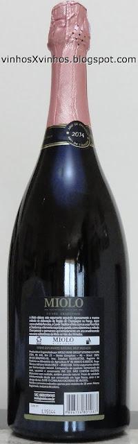 Espumante rosé garrafa magnum