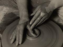 Albert Renger-Patzsch - Potter's Hands - 1925