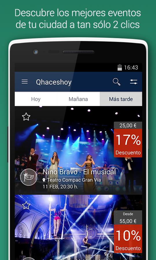 App de qhaceshoy
