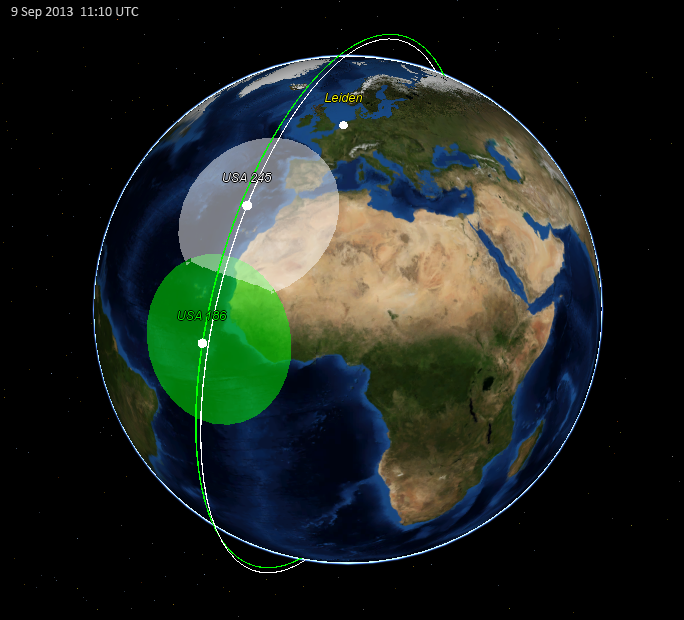 SatTrackCam Leiden Blog The Orbit Of USA And The Current KH - Current satellite image of world
