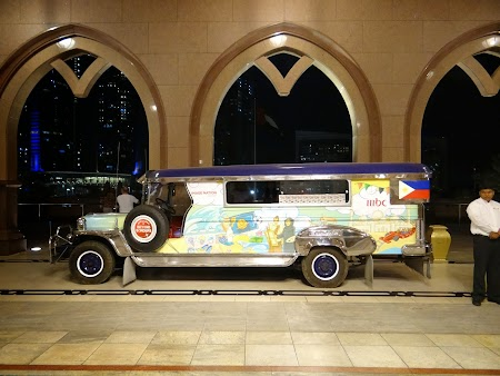Jeepney in Emirate