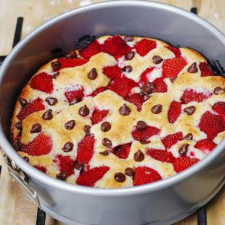 Strawberry Chocolate Chip Cake.