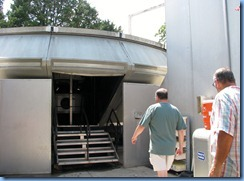 8522 U.S. Space and Rocket Center - Huntsville, Alabama - Bill and Peter going in G Force Accelerator