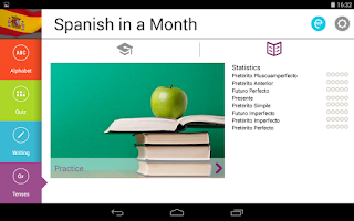 Screenshot of Spanish in a Month