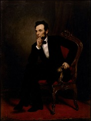 abraham lincoln official portrait