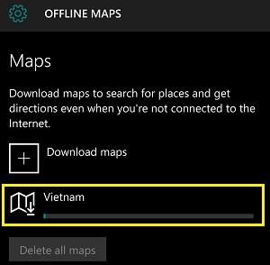 Tải bản đồ offline Việt Nam