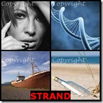 STRAND- 4 Pics 1 Word Answers 3 Letters