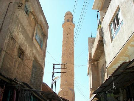 minaret geamie Ulu in Kurdistan