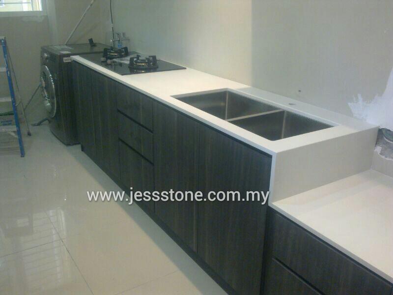 Solid Top Sdn Bhd Today Quartz Jess Stone Installation