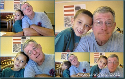 Bobby-grandpa collage