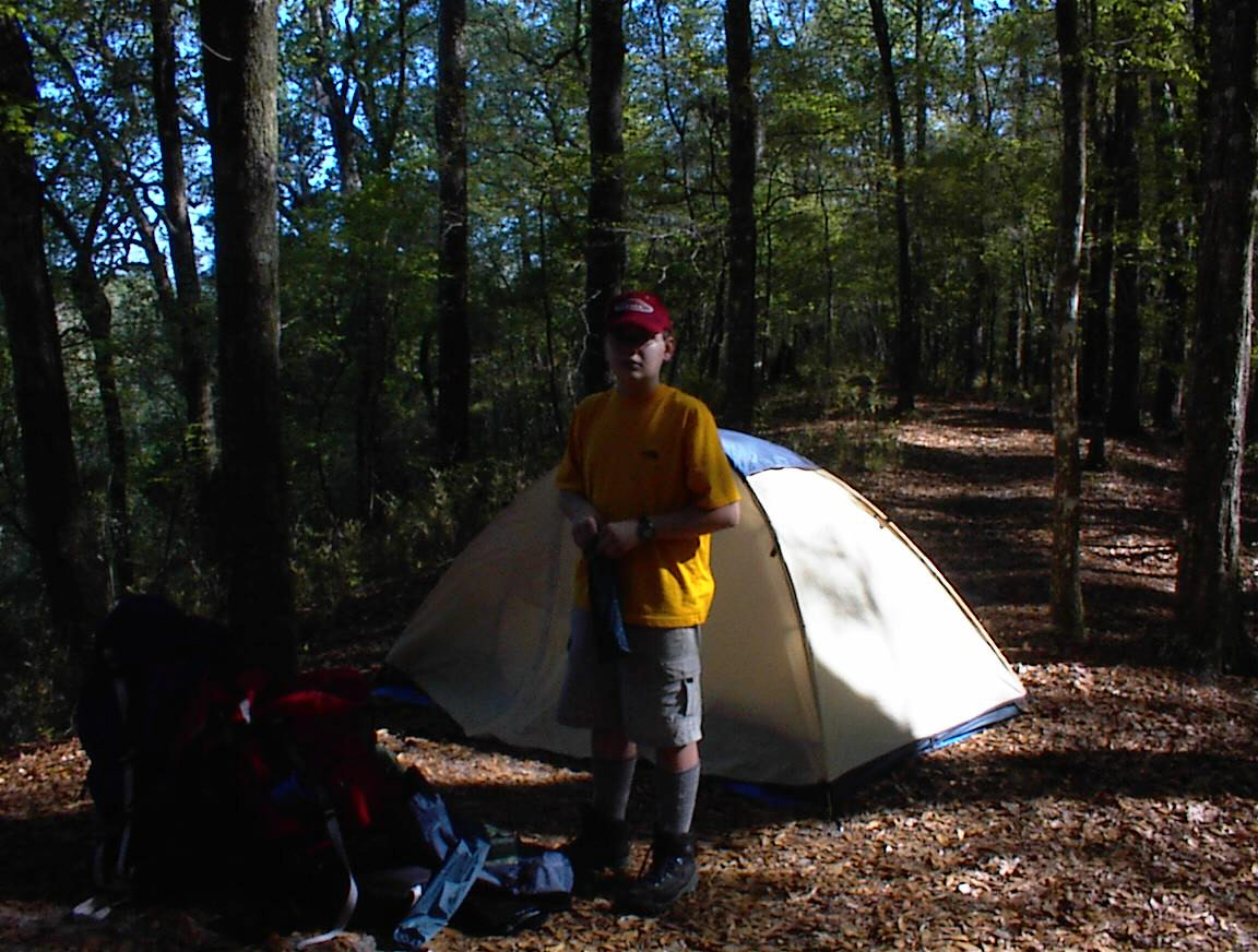 Camping at Torreya State Park