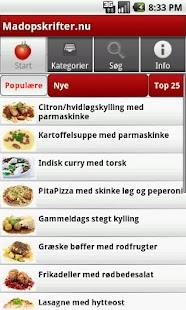 Madopskrifter.nu - Madplanen - screenshot thumbnail