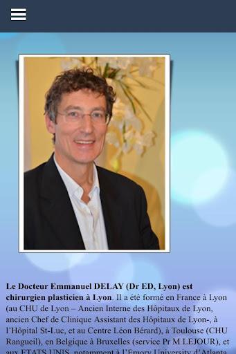 E.DELAY - Chirurgie esthétique