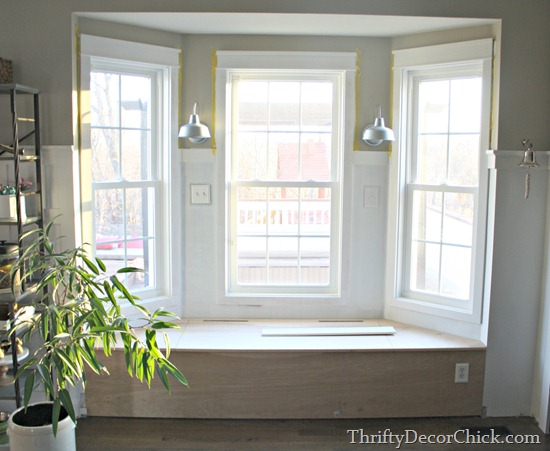 window seat framing