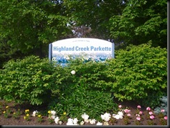 Highland creek parkette
