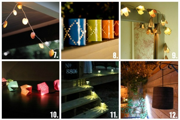 24 DIY Patio Lighting Ideas | U Create