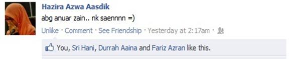 abang anuar zain facebook