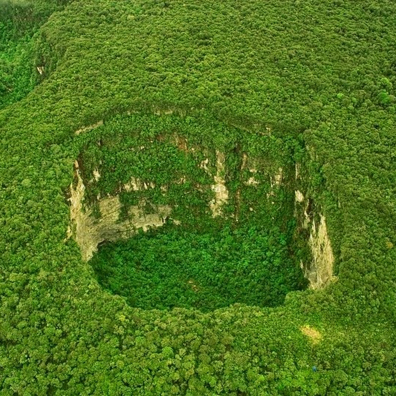 The Sinkholes of Cerro Sarisarinama
