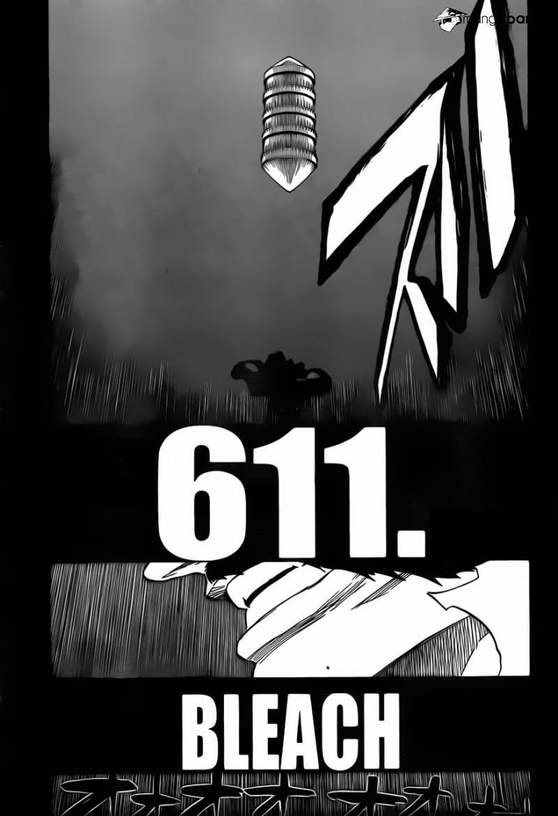 Bleach chapter 611 trang 6