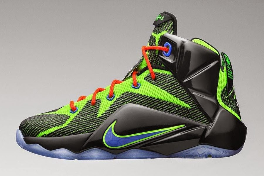 03602011eecd Nike LeBron 12 GS 8220Gamer8221 Inspired by Bronnie8217s Xbox One Cake ...