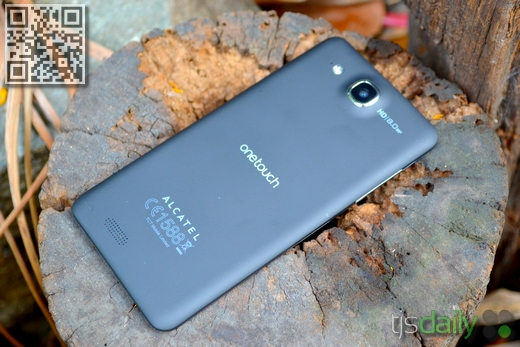 Alcatel One Touch Idol Ultra Review Back