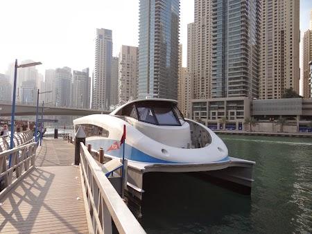 Vas croaziera la Dubai Marina