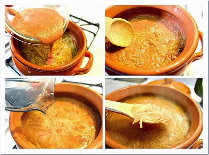 Sopa de Fideo recipe , Traditional Mexican noodle soup in a tomato broth.