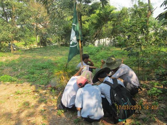 TraiDungThuaThioem2013 27 BHD GĐPT Thừa Thiên tổ chức Trại Dũng năm 2013