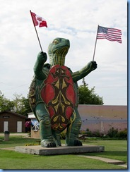 2340 Manitoba Hwy 10 South Boissevain - Tommy the Giant Turtle