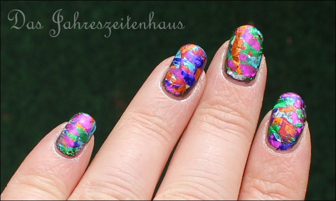Nageldesign Faschingsnägel 3