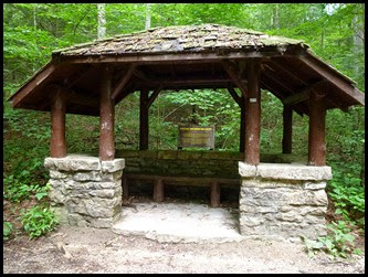 08 - One of Four Trail Shelters built by CCC