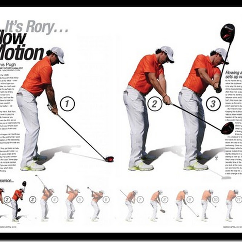 Rory Mcilroy S Flow Motion Swing Analysed By Denis Pugh And