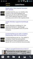 Screenshot of Oil & Gas Financial Journal