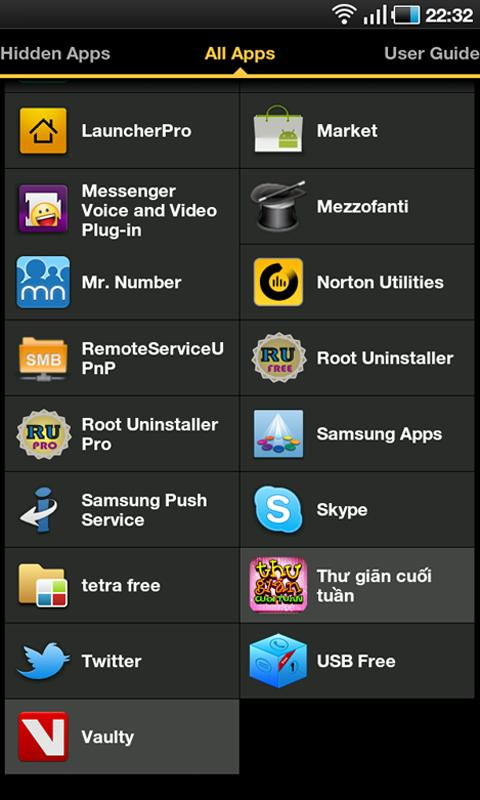 Hide Apps Pro - Root - screenshot