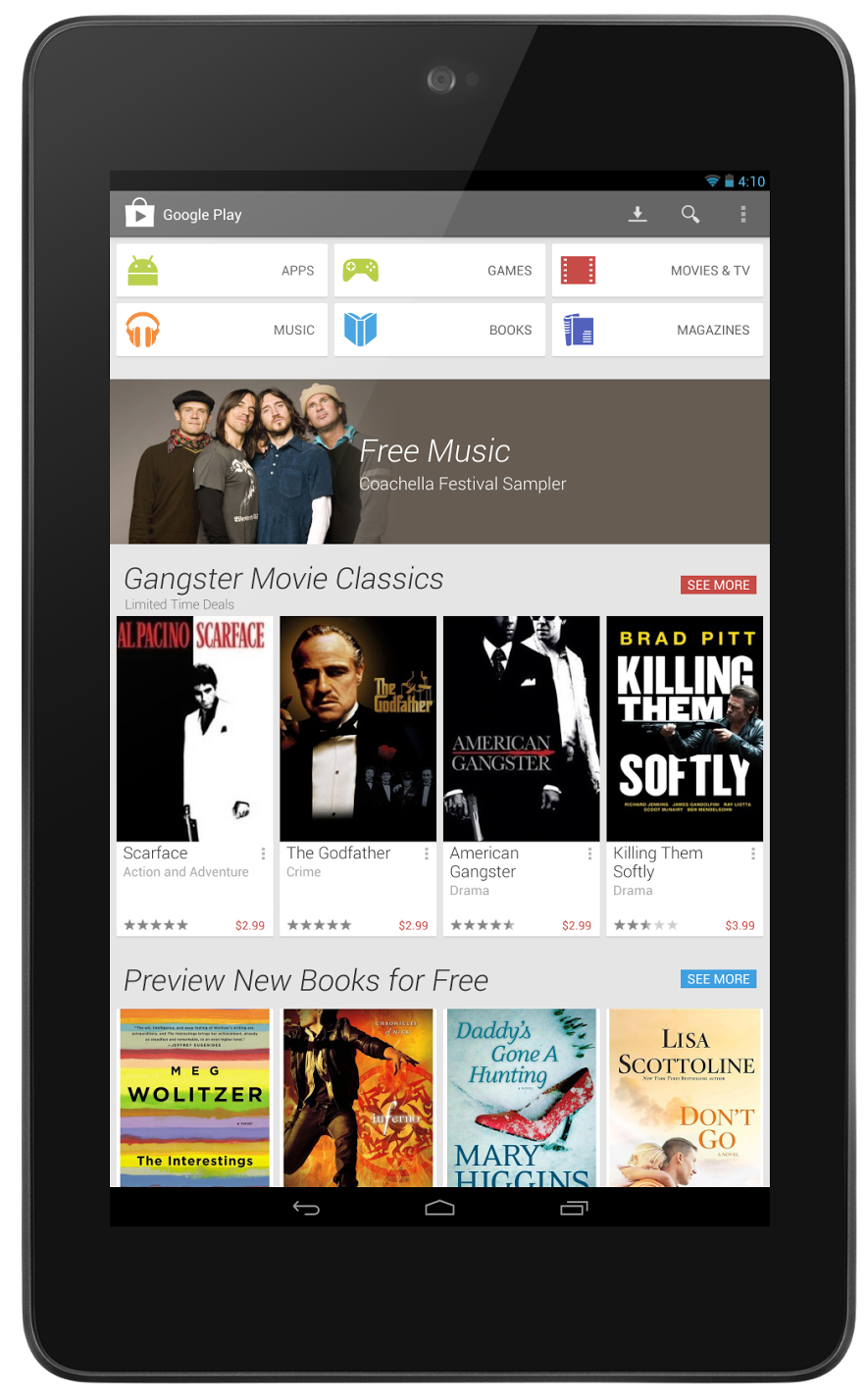 google play store 4.0.25 tablet