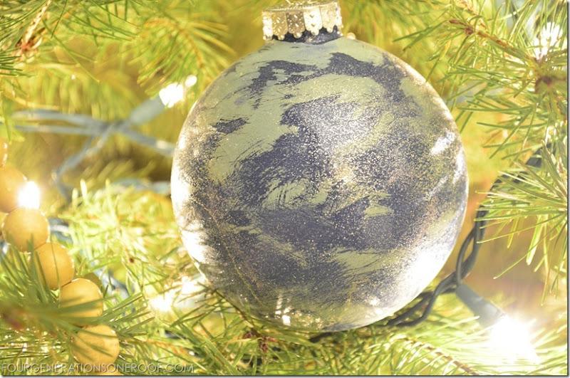 annies sloan chalk paint ornament