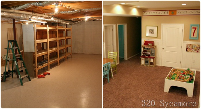 playroom before after