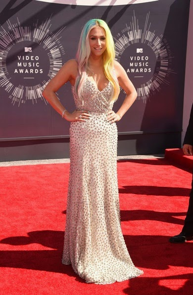 Kesha Arrivals MTV Video Music Awards Part