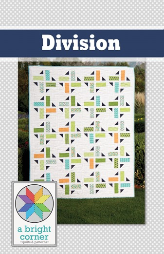 Division quilt pattern from A Bright Corner