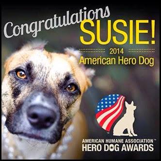Susie Hope Hero Dog