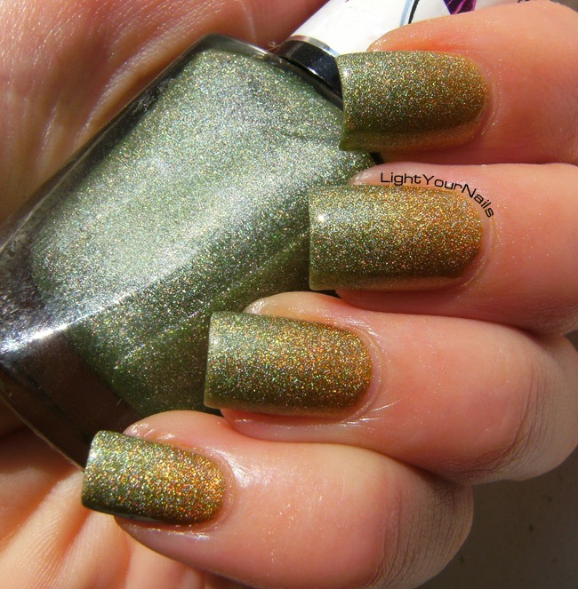 Fall holographic gradient