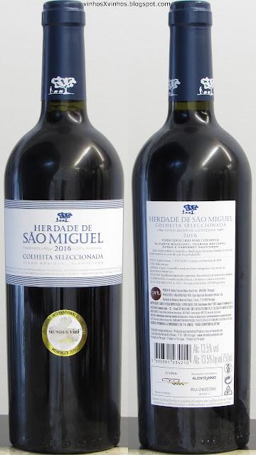 vinho Herdade São Miguel
