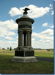 2677 Pennsylvania - Gettysburg, PA - Gettysburg National Military Park Auto Tour - Stop 10 - Sickles' Excelsior Brigade Monument