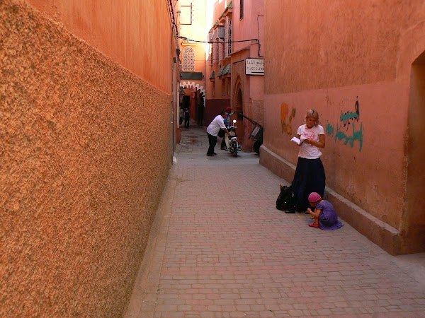 Imagini Marrakech: medina