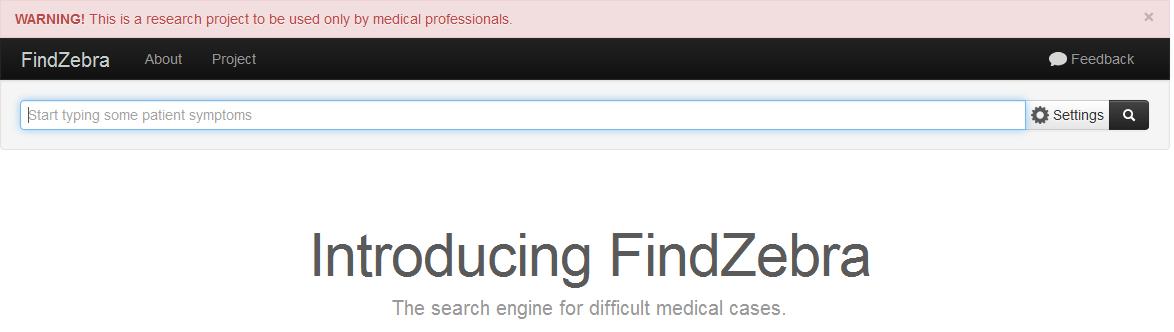 Диагноз редких заболеваний при помощи поисковика